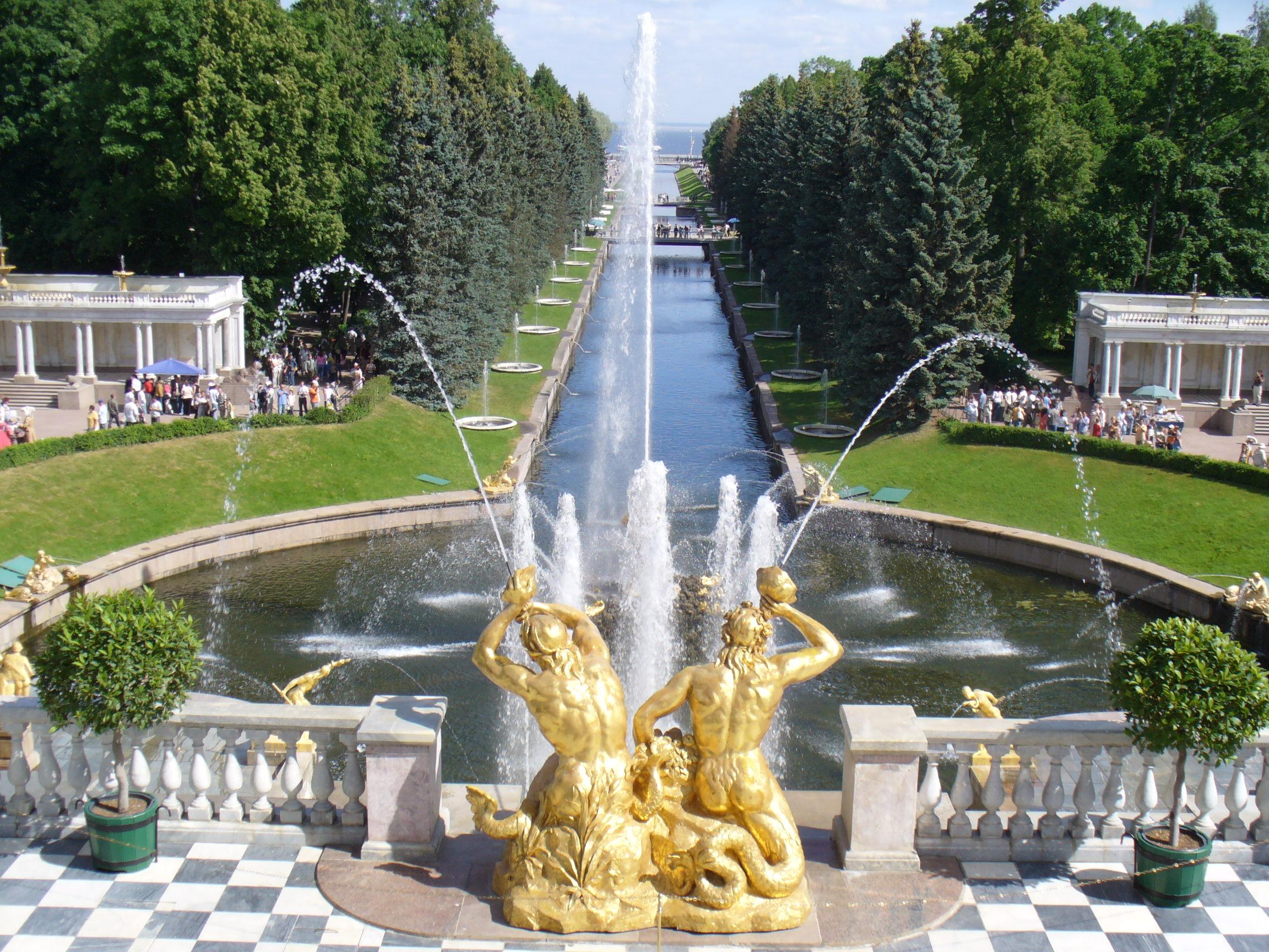 экскурсия в большой дворец Петергофа